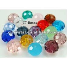 Artesanías de cristal de color, cuentas de vidrio yiwu