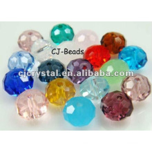 Colored crystal crafts,yiwu glass beads