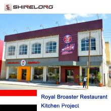 Royal Broaster Restaurant Küchenprojekt