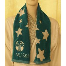 Yarn Dyed Jacquard Cotton Sport Towel