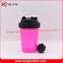 500ml BPA Free Plastic Shaker Bottle With connecting rod (KL-7032)