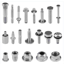 Custom high quality stainless steel metal machining cnc screw bolts