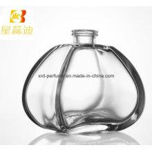 Garrafa de perfume cosmética personalizada projeto da forma do preço de fábrica