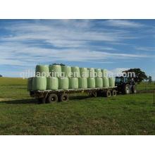 Película estirable de abrigo de ensilaje de balas LLDPE agrícola