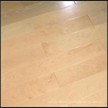 Suelos de madera maciza de arce sólido de alta calidad