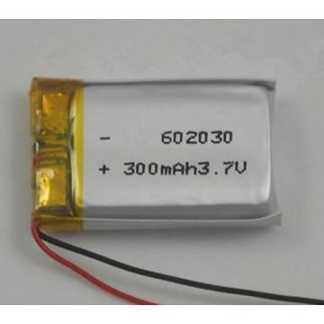 Hochwertige wiederaufladbare 602030 300mAh Li-Polymer Akku