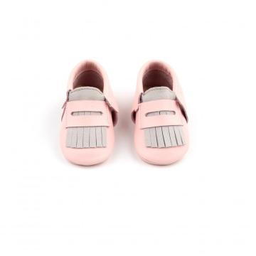 2019 Latest Arrival Leather Fringe Moccasins Baby