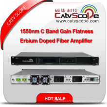 High Performance 1550nm C Band Gain Flatness Erbium Doped Fiber Amplifier EDFA