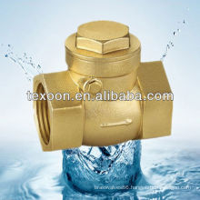 Brass Check valve Lead Free FIP end