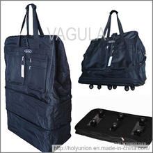 """VAGULA 40"""" roulant à roues Duffle Bag Spinner valise bagages extensible"""