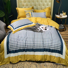 Wholesale Fashion Style Bedding Cotton Fabric Soft for 3PCS Full Bed Sheet Digital Printing