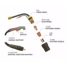 Plasma torch cutting head body of LT50