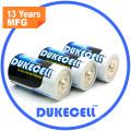 Tamaño alcalino de la batería 1.5V Lr20 D