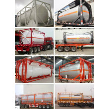 Top Safety ISO Standard 20FT or 40FT LPG Storage Tank Container