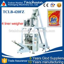 Automatische Mehrkopfwaage Verpackungsmaschine für Waschmittelpulver