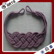 Spezielles Design handgemachtes gewebtes dekoratives Vorhangbind für Vorhangdekoration