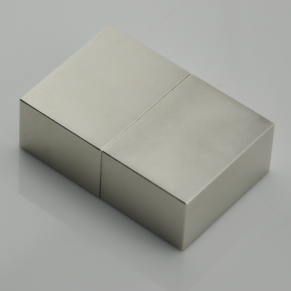 Sintered cube magnet