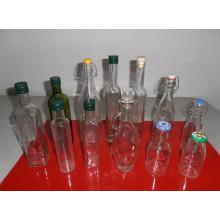 Different Capacity Glass Oil Bottles