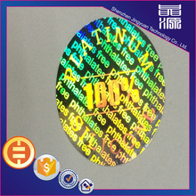 Tamper Proof Security Hologram Label