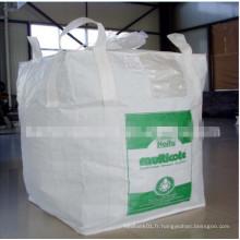 Sacs FIBC pour bitume d'emballage, résistance à la température