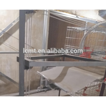 hot galvanized wire material chicken broiler battery cage