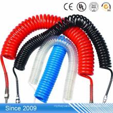 Le tube de marquage de câble imprimable de bobine en spirale souple flexible en plastique souple de couleur élevée d'élasticité
