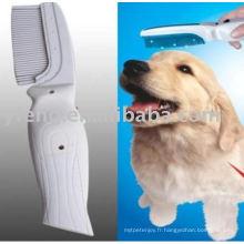Brosse à peigne électronique Zapper pour animal de compagnie