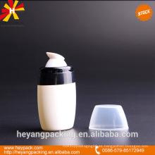 50ml botella de la bomba de la loción del cuerpo en la acción