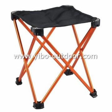 alumínio dobrável cadeiras com diferentes tamanhos e cores