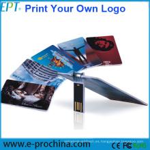 Unidad USB Flash Drive Drive personalizada y personalizada (EC002)