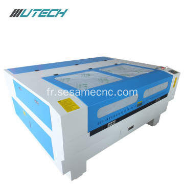 Desktop cnc leather cloth laser engraving machine