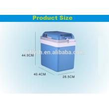 АК-24Л(106) постоянного тока 12В переменного тока 220В 60Вт холодную и горячую двойная польза дома и автомобиля двойного применения автомобильный холодильник(сертификат CE)