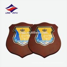 Popular natural color wood wooden award plaque
