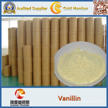 CAS No 121-33-5 China Supply 99.5% Powder Ethyl Vanillin