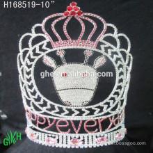 Wholesale rhinestone crystal beauty pageant crowns & tiaras