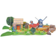 Osito 3D Puzzle de la granja