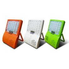Luz de inundación solar LED de música con batería recargable