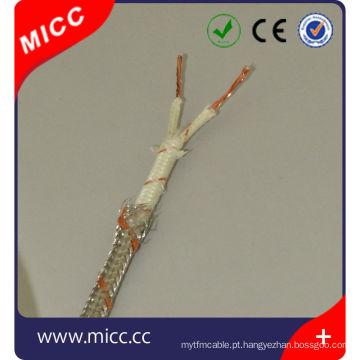 Cabo de extensão de termopar tipo SX-FG / FG / SSB-14 / 0,2x2-IEC / S tipo Multicore cabo de termopar para compensação