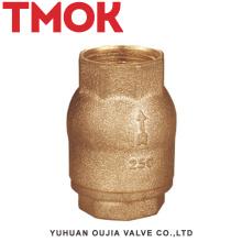 balanço de latão cheio cromado areia polimento válvulas de retenção