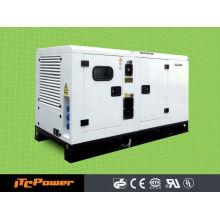 ITC-POWER 50kVA Diesel Generador de repuesto con toldo