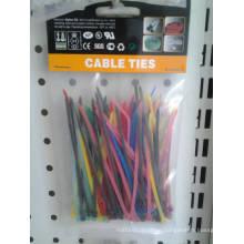 Assorted Color Nylon Cable Ties 100PCS Per Bag