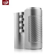 Pieza mecanizada CNC de acero inoxidable plateado para E-Cigarette