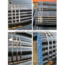 api 5l x52 / x42 / gr.b sch 80 tubería de acero con poco carbono