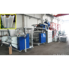 Plastik PET / LDPE / LLDPE warf Film-Maschine / Form-Film-Verdrängungs-Linie