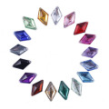 Acrylic Sew On Rhinestone 8x13mm Diamond