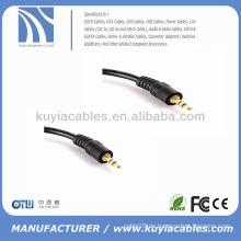 Stereo Audio Kabel AUX 3m Zusatzkabel AV Kabel für iPod für iPhone PC MP3 Auto