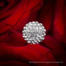 Rhinestone-Blumenverzierung-Schmucksache-Stift-Hochzeits-Brautblumenstrauß-Schmucksachen