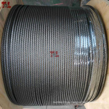 Cuerda de alambre de acero inoxidable 316 7X7