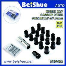 16+1 PCS Wheel Lock Nut Set for Automobile Repacking