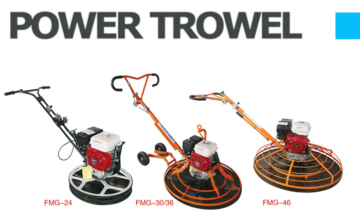 Walk Behind Power Trowel